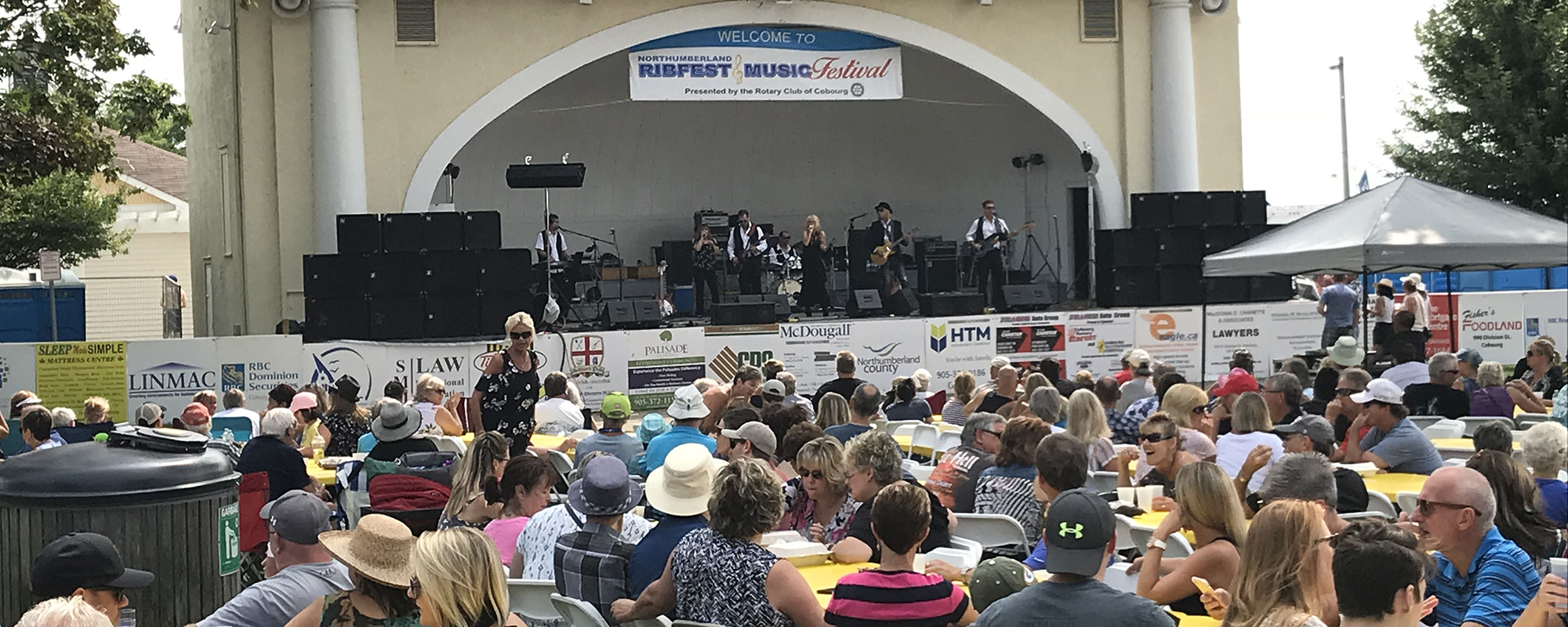 The Rotary Club of Cobourg - Ribfest and Music Festival
