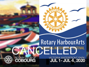 The Rotary Club of Cobourg Harbour Arts Craft Show