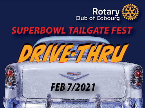 Cobourg Rotary Superbowl Drive Thru Dinner