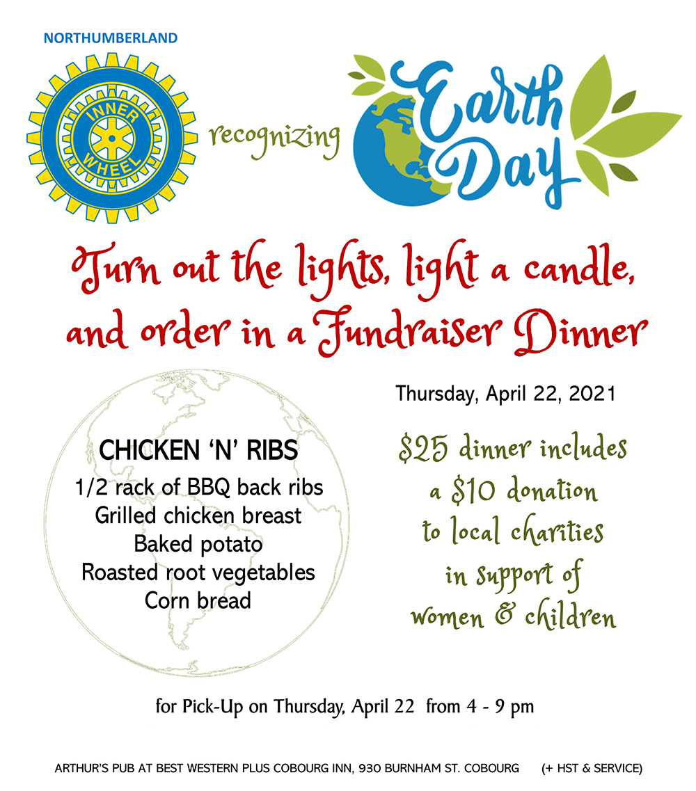 Cobourg Rotary Earth Day Dinner